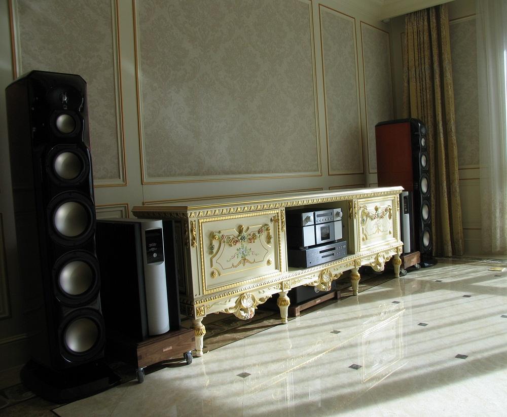 远洋万和公馆客户的Mark-levinson+REVEL Hiend系统