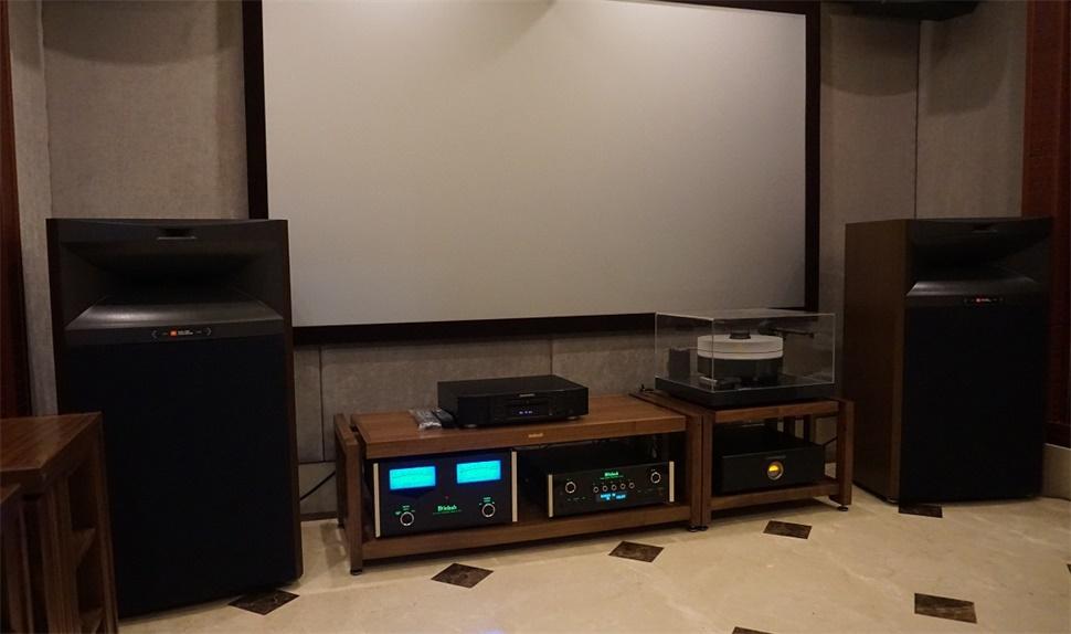 JBL4365音箱两声道HIEND系统实例