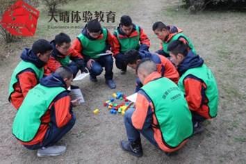 团队沟通拓展项目:哑人筑塔