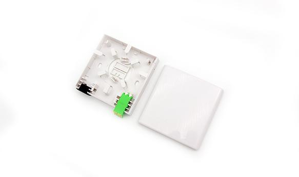 1/2 ports Fiber socket/Fiber Face Plate-FS-1A