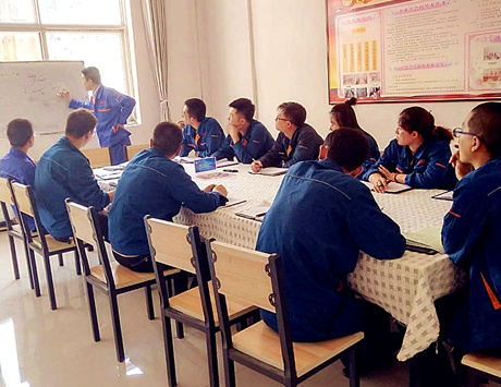 奧福集團組織安全生產月活動