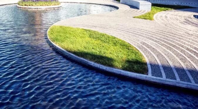 别墅庭院景观设计你永远猜不透铺装还能怎样演绎