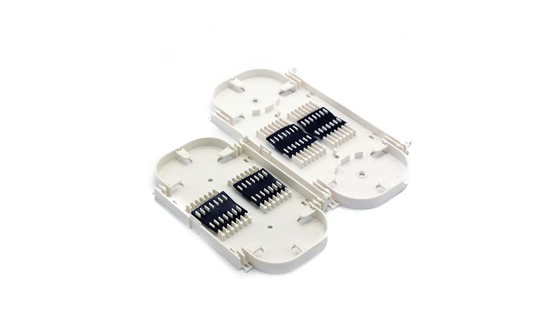 24 core Stackable fiber optic splicing tray