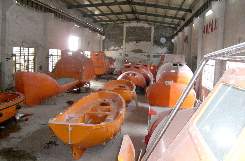 Lifeboat/Rescue Boat, Davit