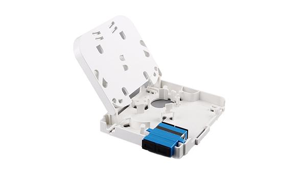 2 Ports Fiber Socket/Fiber Face Plate