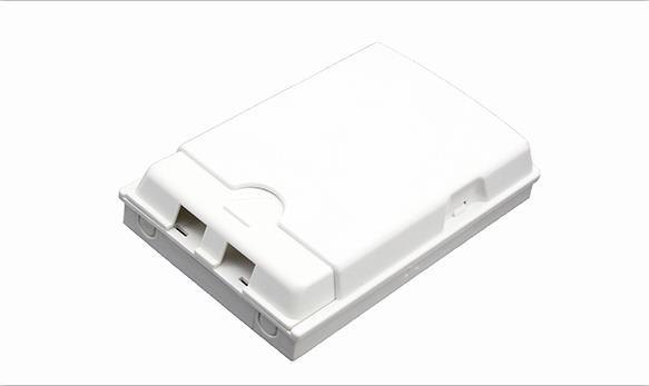 Prise fibre / plaque frontale fibre 2/4 ports FS-2D