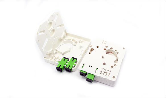 2/4 ports Fiber socket/Fiber Face Plate FTTH-OTB2