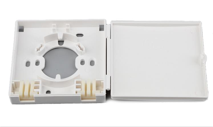 1/2 ports Fiber socket/Fiber Face Plate-FT-1A