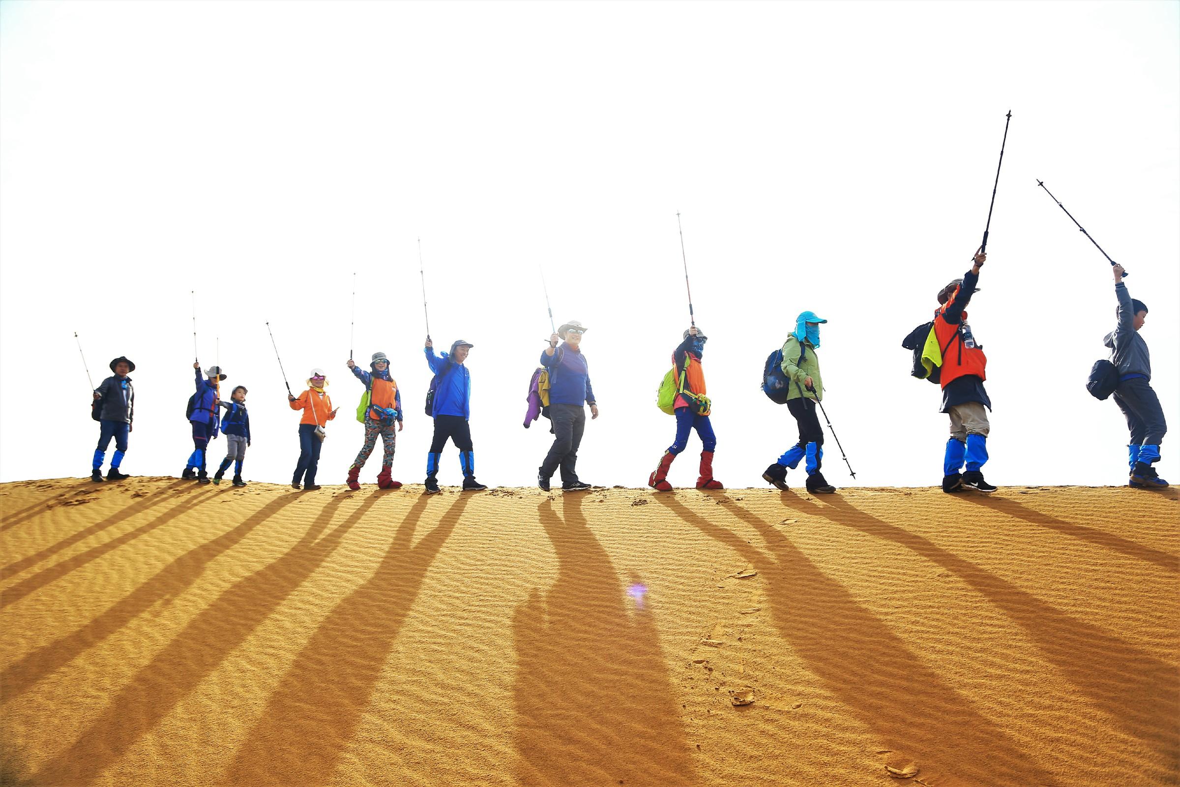 大漠朝圣•逐梦无惧 腾格里沙漠徒步体验行将再次启航!
