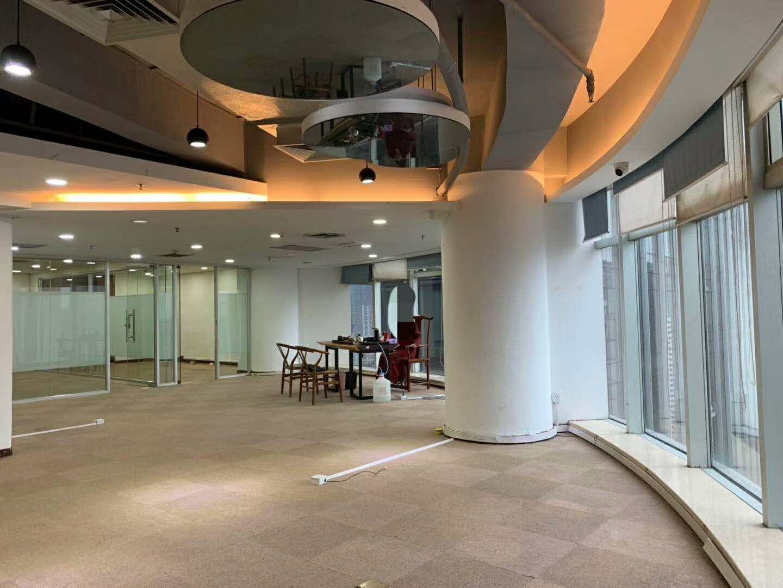君临天下办公室480平装修设计