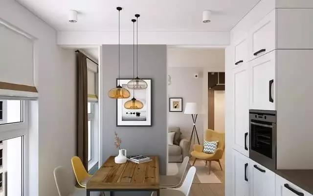 65㎡的小户型告诉你,创意的设计一定要有,厨房设计超赞!
