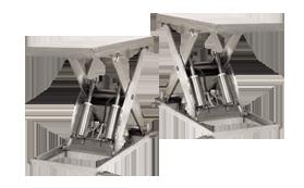 剪叉式升降机 - 不锈钢