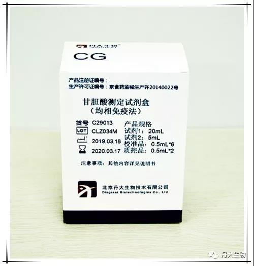 说说产检甘胆酸(CG)的重要性