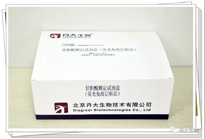 丹大甘胆酸测定试剂盒(均相免疫法)