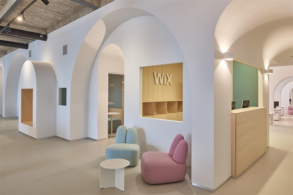 WIX.COM Office in Vilnius  INBLUM