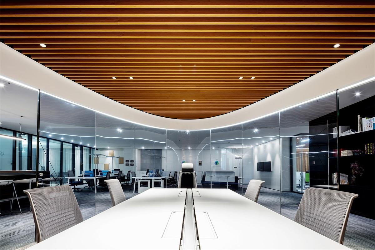 【峻佳设计】Pinwell创意办公展厅,武汉