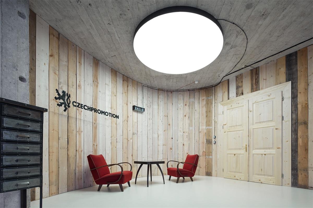 Czech Promotion广告公司办公室,布拉格  Kurz architekti