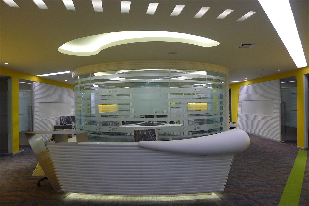 David Ho 设计--奇虎360总部办公室