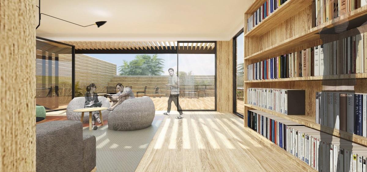 【AIM恺慕】中粮置地北京联合办公室丨效果图+深化方案