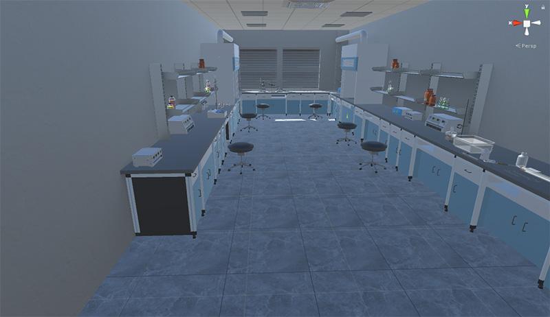 化学实验室器材认知与实验模拟VR实训软件