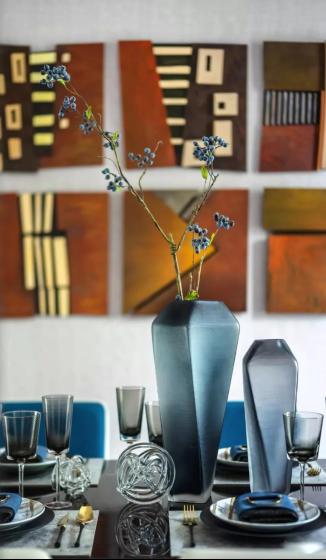 听见花开,蓝集装饰艺术插花之旅轻奢开启
