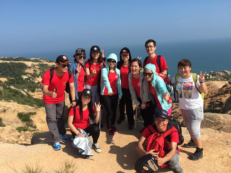 iLike go hiking at Shuang Yue bay