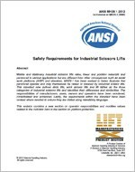 Safety Requirements for Industrial Scissors Lifts