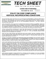 Vertical Conveyor Code Compliance