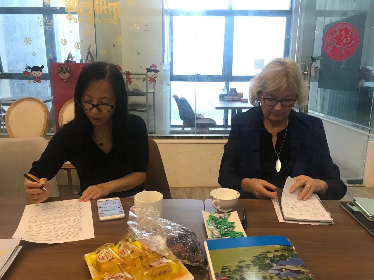 活动回顾丨新西兰格林中学携尼尔森语言中心来访加哈教育