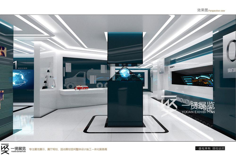 企业展厅设计要把艺术和文化相结合