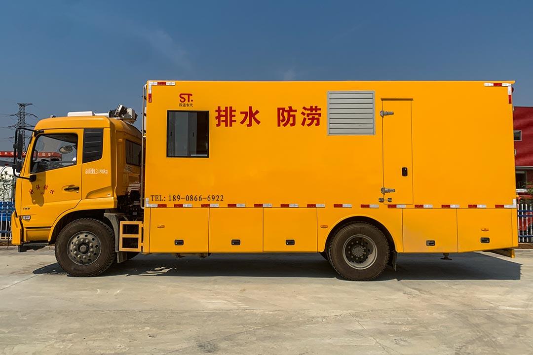 东风天锦大流量排水抢险车