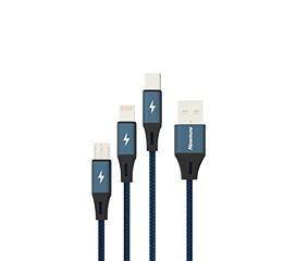 XS10 一拖三编织充电线