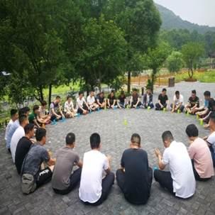 团队协作拓展项目:收获的季节