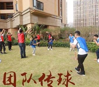 团队协作拓展项目:团队传球