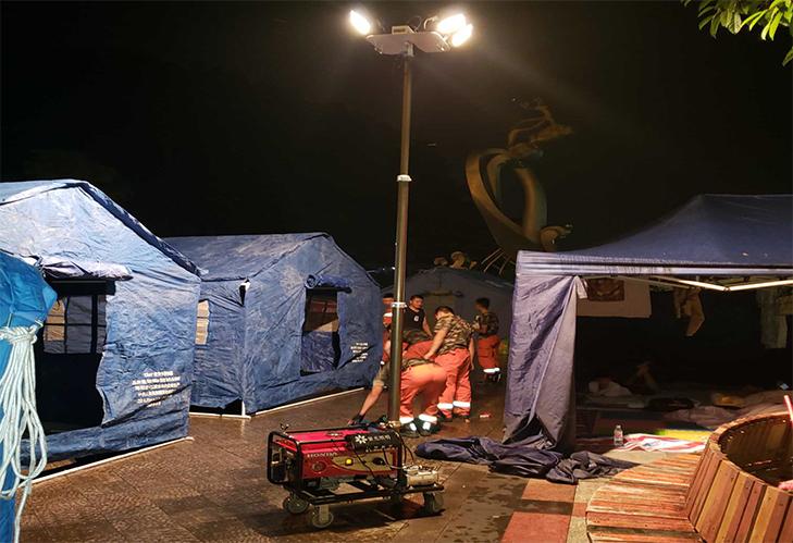 raybet雷竞技官网照明驰援宜宾灾区