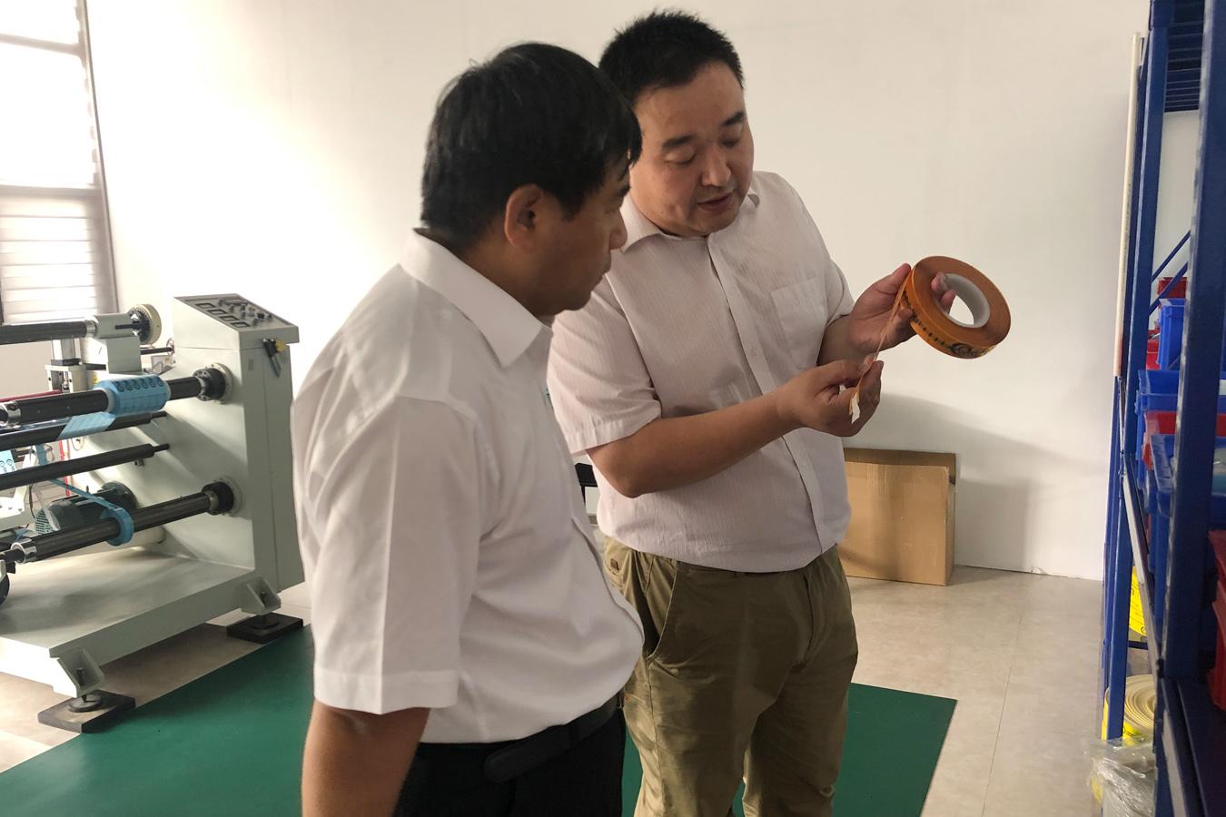 民盟中央社会服务部部长刘圣宇深入博阳调研座谈