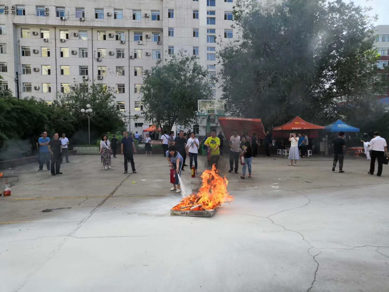 中国联通包头分公司开展消防知识培训及消防应急演练