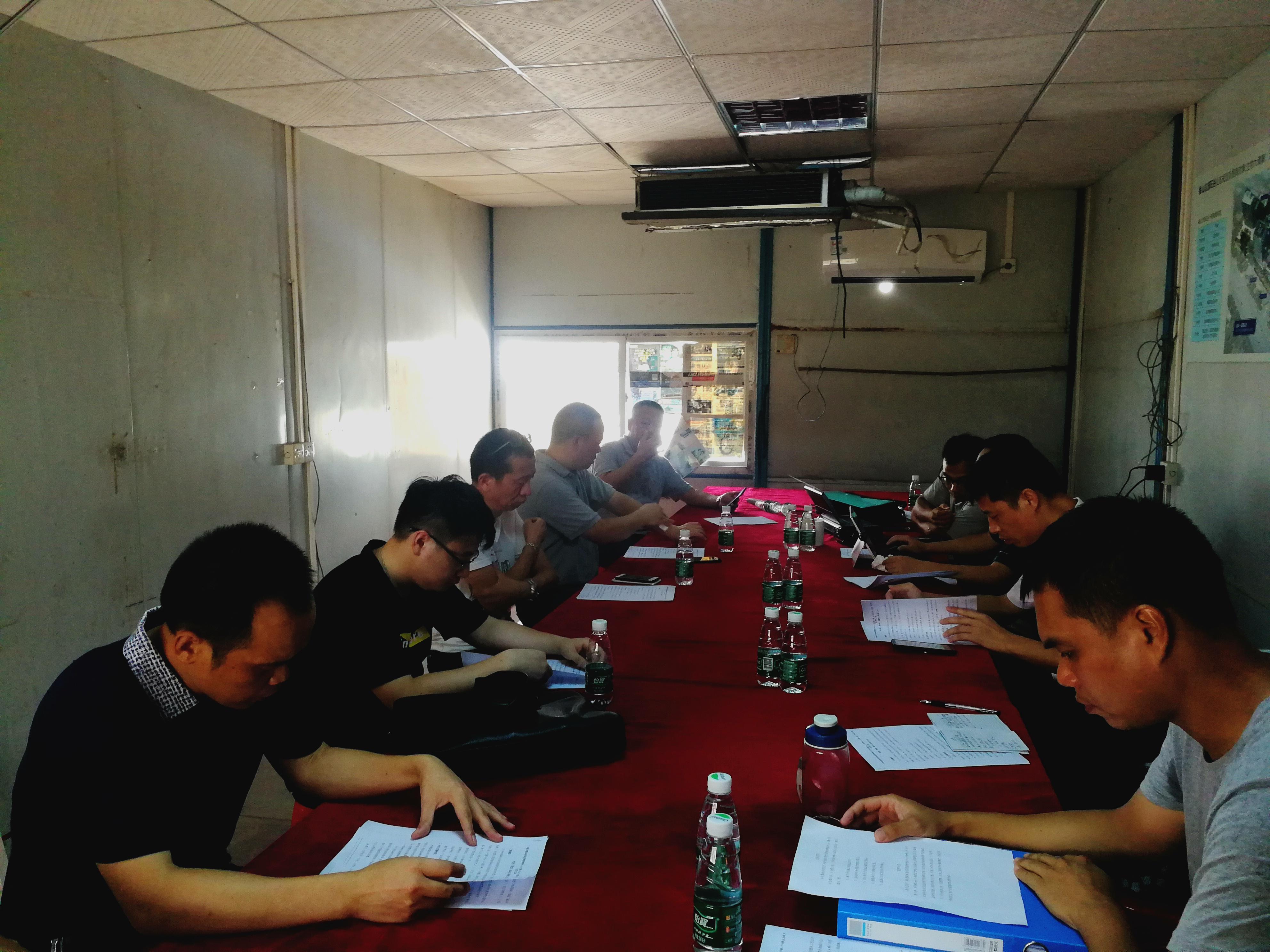 第一工程管理事务所监理的广州新龙嘉禾现代医药销售物流中心6号楼、7号楼及2井地下室项目