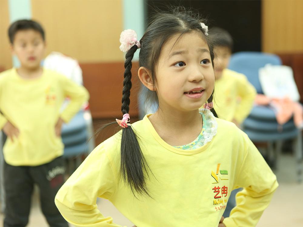 表演与口才提高课程(招生年龄6-7岁)