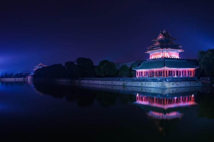 Forbidden City turret lighting appreciation