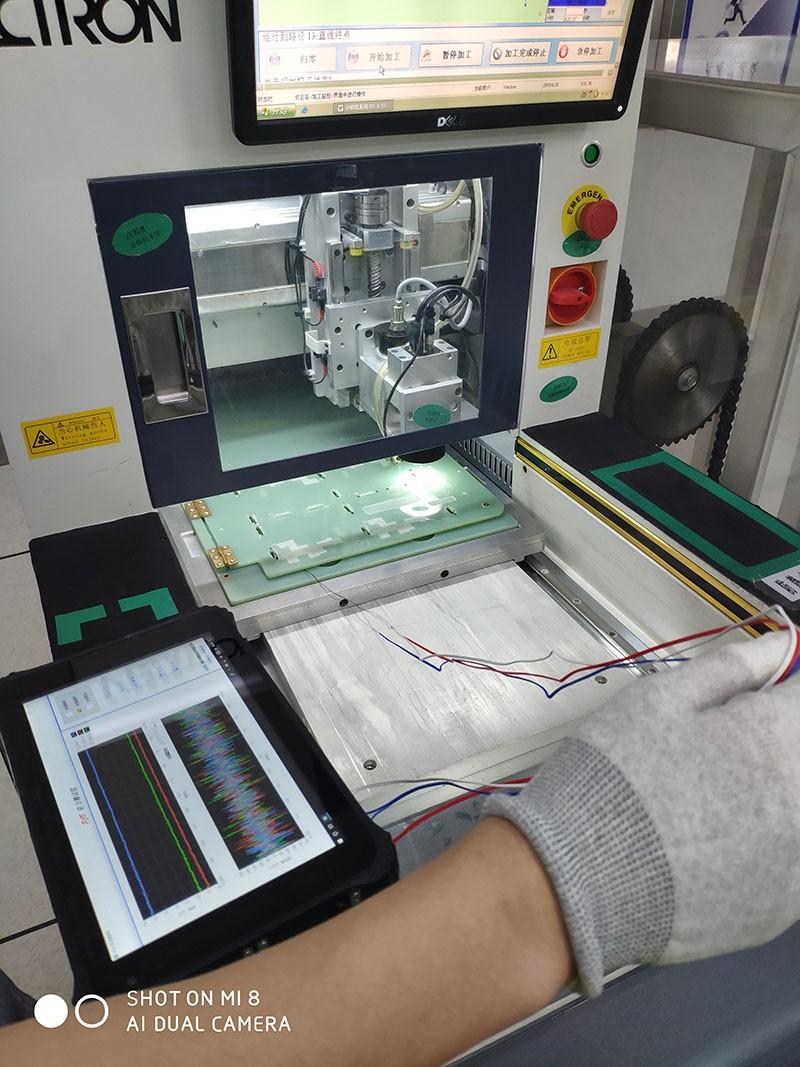 分板、IGBT固定、PCB螺丝固定、ICT测试过程--南京奥特佳祥云冷机有限公司