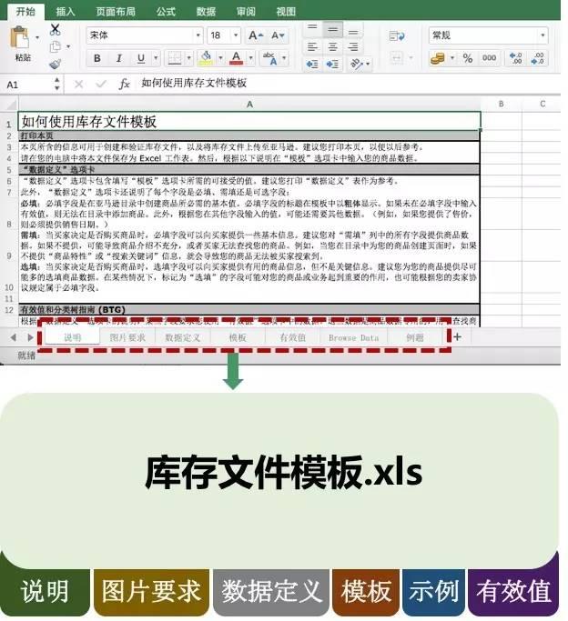 亚马逊如何批量上传多个商品?库存文件模板的填写
