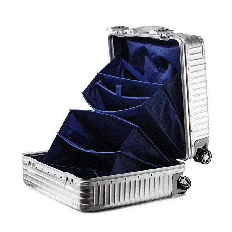 PC+ABS铝框拉杆箱[型号:PC-1609]