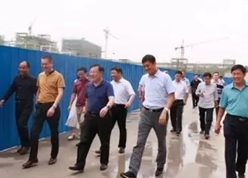 郑州市中原区领导视察大中原亚博体彩官网