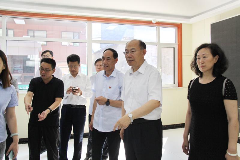 王京文副市长莅临堤口集团果品批发市场调研
