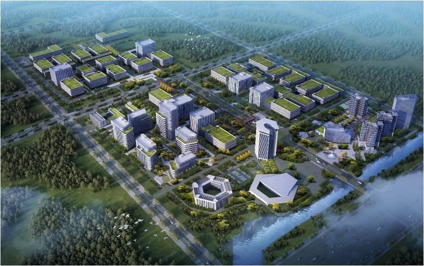 我司成功签约连云港经济技术开发区中华药港核心区项目设计合同