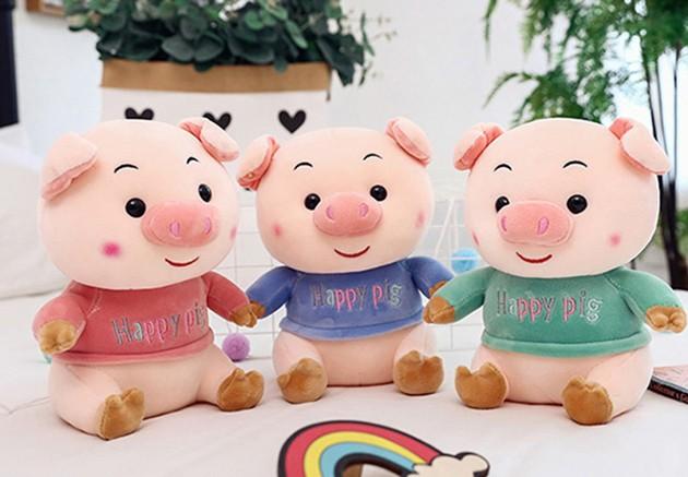 开心猪-公仔玩具