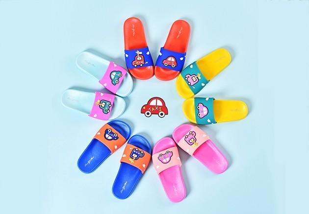 小汽车儿童拖鞋-家具用品