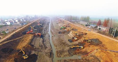 徐州市郑集河输水扩大工程投资概算评审