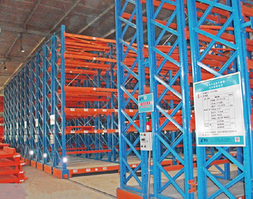 Electric Mobile racking